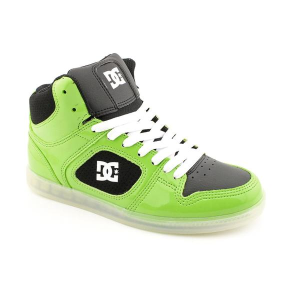 DC Men's 'Union HI SE' Patent Leather Athletic Shoe