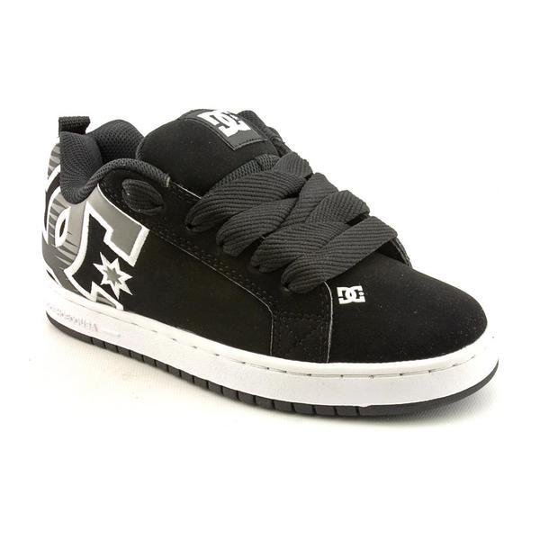 DC Boy's 'Court Graffik SE' Nubuck Athletic Shoe