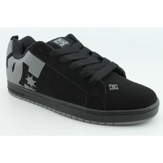 DC Boy's 'Court Graffik' Nubuck Athletic Shoe