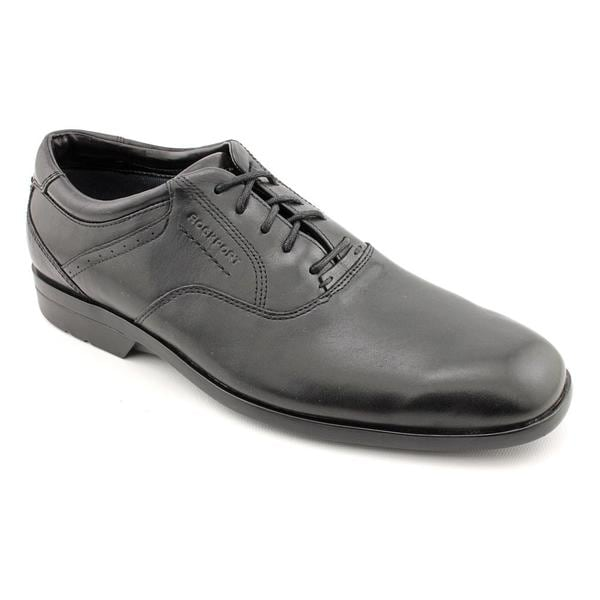 Rockport Men's 'Business Lite Plain Toe' Full-Grain Leather Dress Shoes