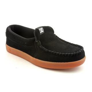 DC Boy's 'Villain' Regular Suede Casual Shoes