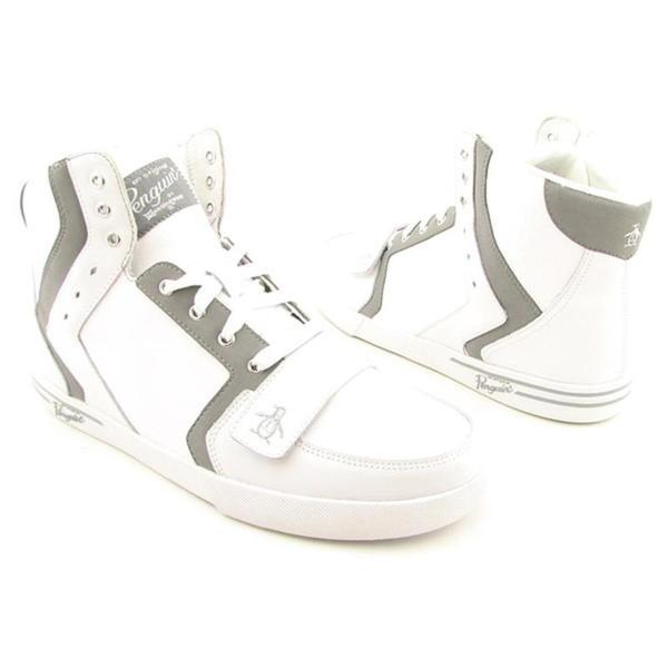 PENGUIN Men's 'Mobil Hi' Leather Casual Shoes