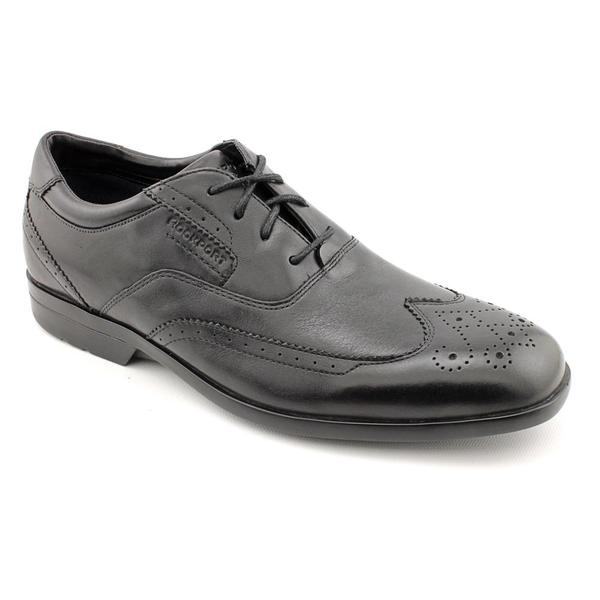 Rockport Men's 'Business Lite Wingtip' Full-Grain Leather Casual Shoes