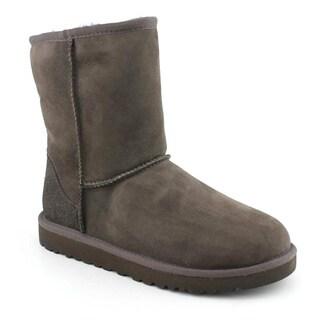Ugg Australia Girl's 'Classic Short' Regular Suede Boots