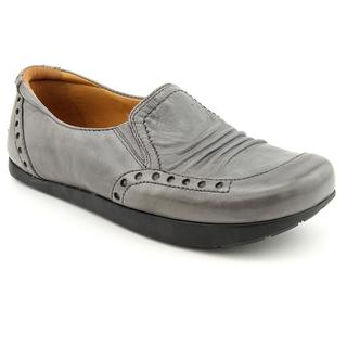 Kalso Earth Women's 'Shake' Gray Full-Grain Leather Casual Shoes
