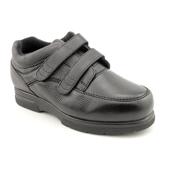 Drew Men's 'Traveler Velcro ' Leather Casual Shoes - Extra Wide (Size 7.5)