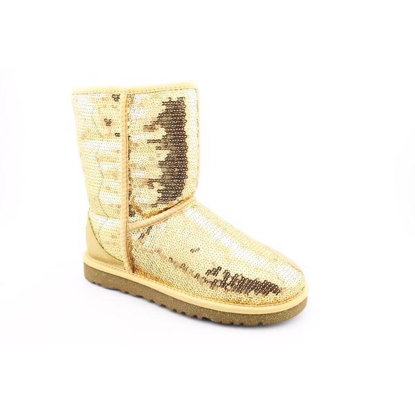 Ugg Australia Women's 'Classic Short Sparkles' Basic Textile Boots