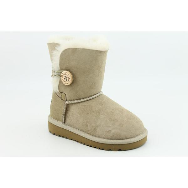 Ugg Australia Girl's 'Bailey Button' Regular Suede Boots