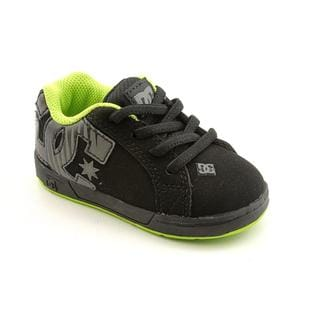 DC Boy's 'Court Graffik Elastic' Nubuck Athletic Shoe