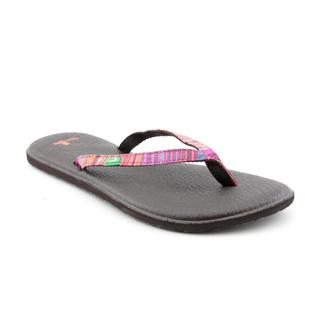 Sanuk Women's 'Yoga Spree Funk' Basic Textile Sandals