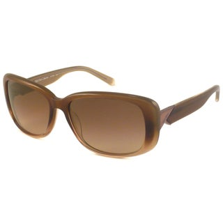 Calvin Klein Women's CK7789 Rectangular Brown Gradient Sunglasses