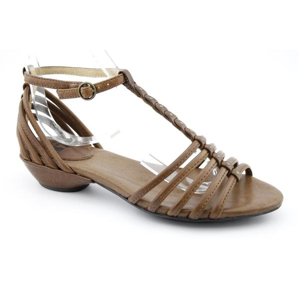 Frye Women's 'Naomi Strappy T' Leather Sandals (Size 6)