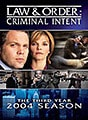 Law & Order: Criminal Intent Season 3 (DVD)