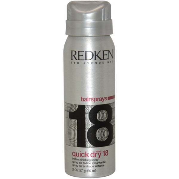 Redken Quick Dry 18 Instant Finish Maximum Control 2-ounce Hair Spray