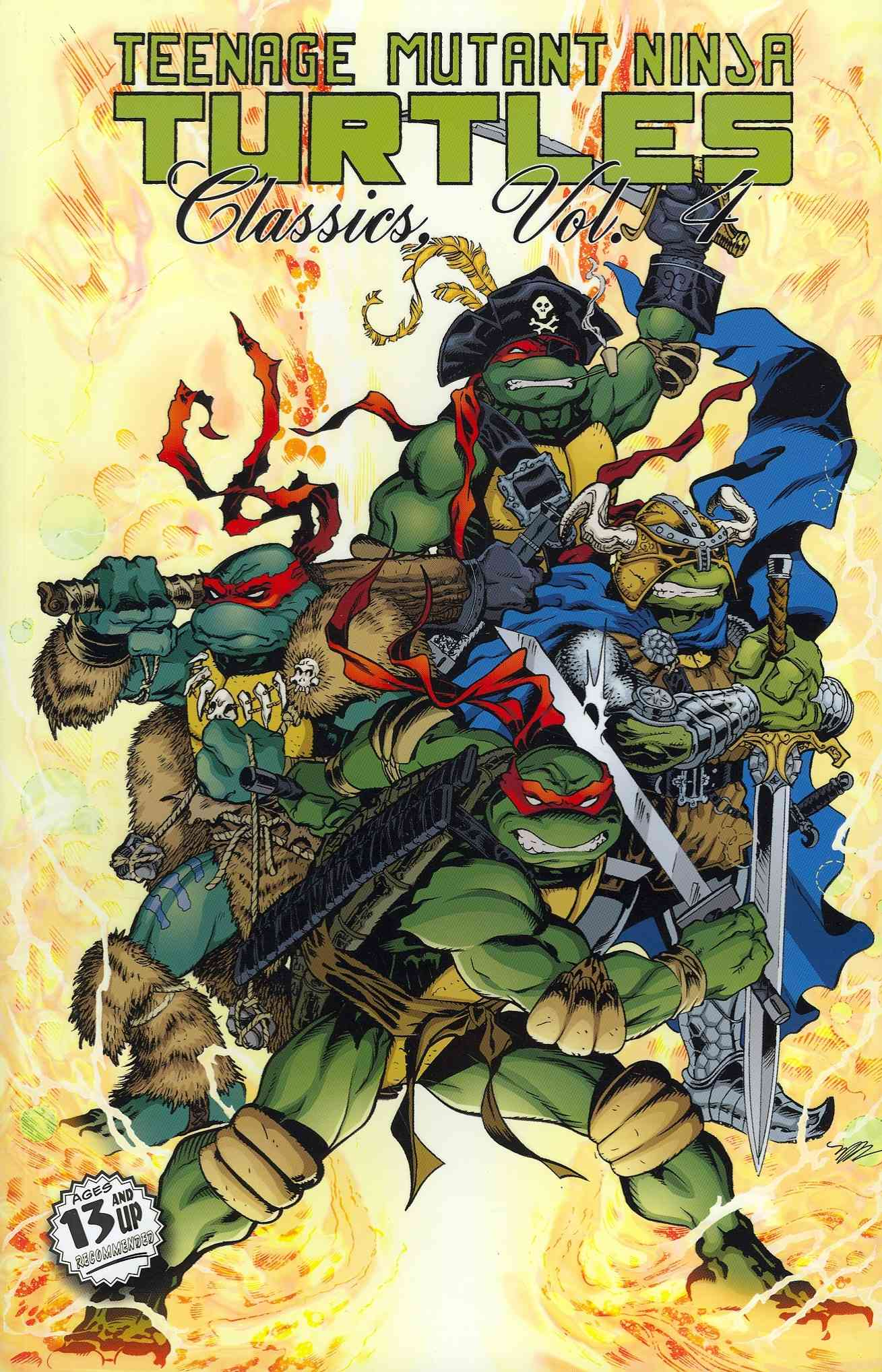 Teenage Mutant Ninja Turtles Classics 4 (Paperback)