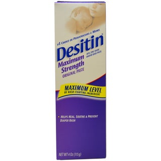 Desitin Diaper Rash Maximum Strength Original 4-ounce Paste