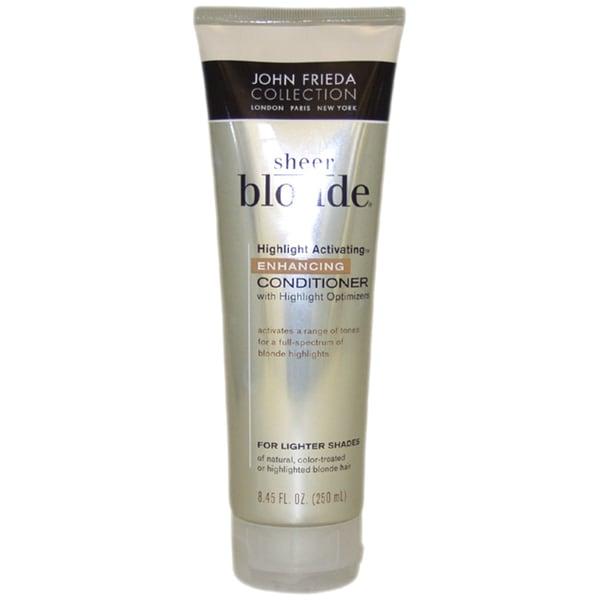 John Frieda Sheer Blonde Highlight Activating 8.45-ounce Enhancing Conditioner