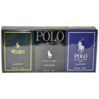 Ralph Lauren Polo Variety Men's 3-Piece Mini Gift Set