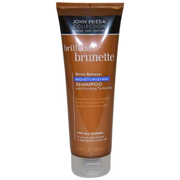 John Frieda Brilliant Brunette Moisturizing 8.45-ounce Shampoo