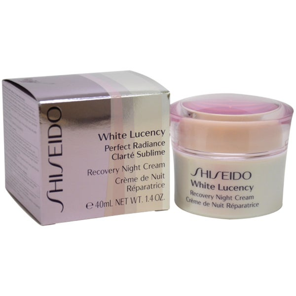 Shiseido White Lucency Perfect Radiance Recovery 1.4-ounce Night Cream