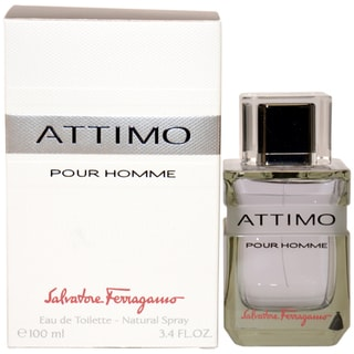 Salvatore Ferragamo 'Attimo' Men's 3.4-ounce Eau de Toilette Spray