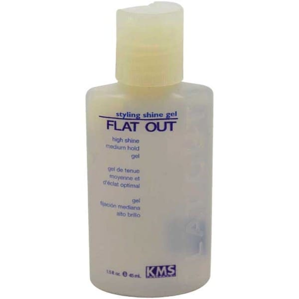 KMS Flat Out Medium Hold Styling 1.5-ounce Shine Gel