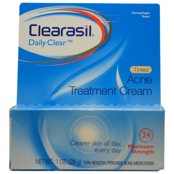 Clearasil Tinted Acne Cream 1-ounce Treatment