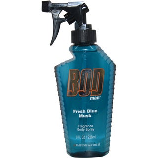 Parfums de Coeur 'BOD Man Fresh Blue Musk' Men's 8-ounce Fragrance Body Spray