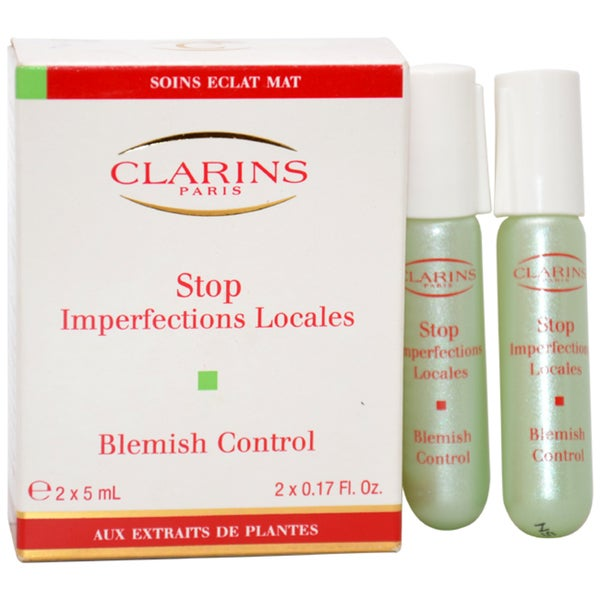 Clarins Truly Matte Stop Imperfections Locales Blemish Control 2 x 5 ml Day Care