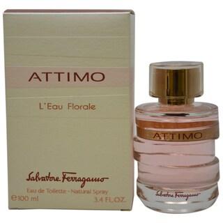Salvatore Ferragamo 'Attimo L`Eau Florale' Women's 3.4-ounce Eau De Toilette Spray