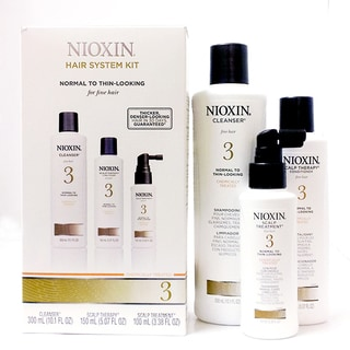Nioxin System 3 Thinning Hair 3-piece Kit for Chemically Enhanced Normal to Thin Hair
