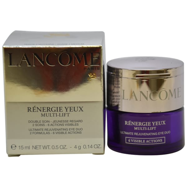 Lancome Renergie Yeux Multi-lift Ultimate Rejuvenating Eye Duo Shade 2 Medium 0.5-ounce Eye Cream