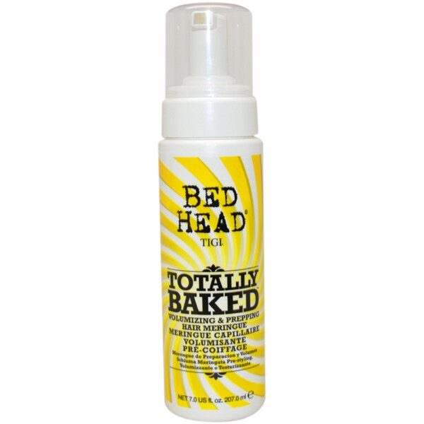 TIGI Bed Head Totally Baked Volumizing & Prepping Hair Meringue 8.1-ounce Styler