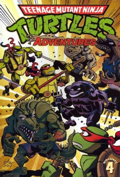 Teenage Mutant Ninja Turtles Adventures 4 (Paperback)