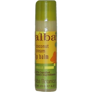 Alba Botanica Coconut Cream Lip Balm