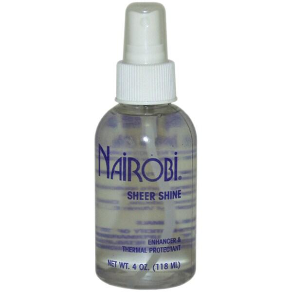Nairobi Sheer Shine 4-ounce Thermal Protectant