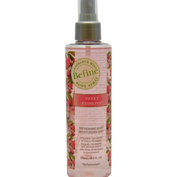 Befine Sweet Passions Refreshing Body Moisturizer Mist 8.4-ounce Body Spray