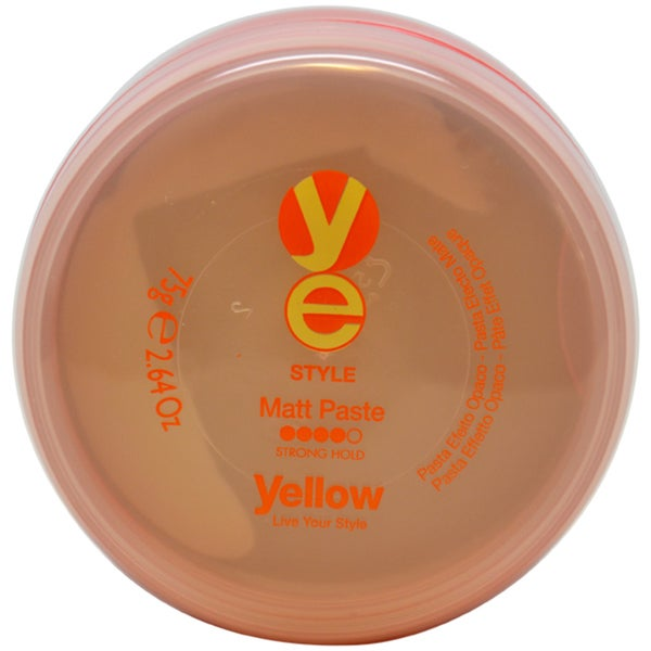 Alfaparf Yellow Style Matt 2.64-ounce Hair Paste