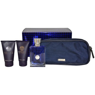 Versace 'Pour Homme' Men's 4-piece Gift Set