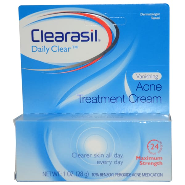 Clearasil Vanishing Acne Cream 1-ounce Treatment