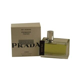 Prada Amber Women's 2.7-ounce Eau de Parfum Spray (Tester)