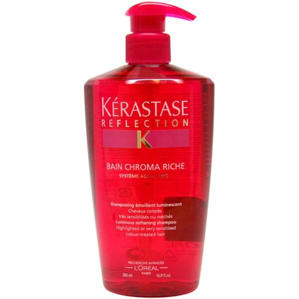 Kerastase Reflection Bain Chroma Riche 16.9-ounce Unisex Shampoo