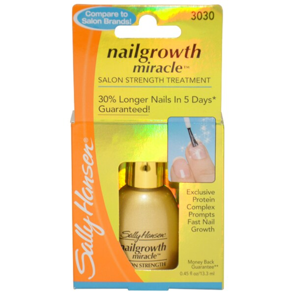 Nailgrowth Miracle 3030 by Sally Hansen for Women 0.45-oz Nail Color