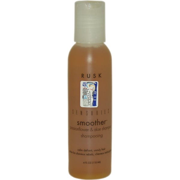 Rusk Sensories Smoother Passionflower & Aloe 4-ounce Shampoo