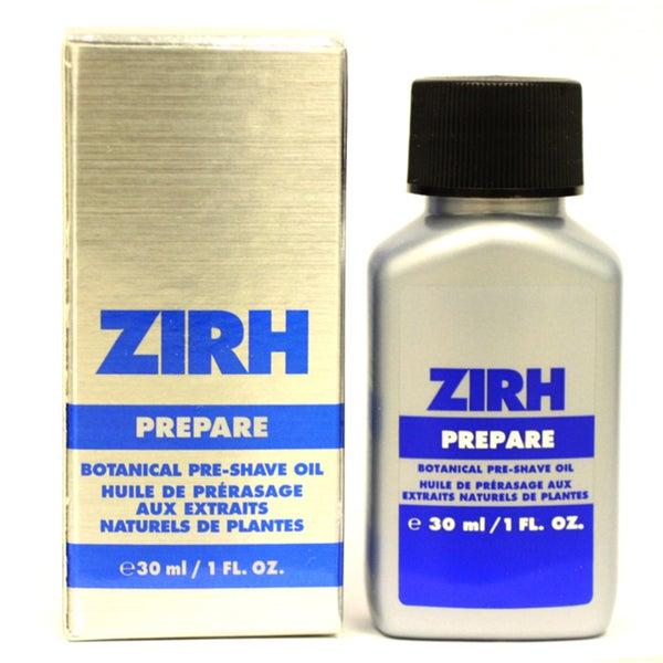 Zirh International Men's 1-ounce Prepare Botanical Pre-shave Oil