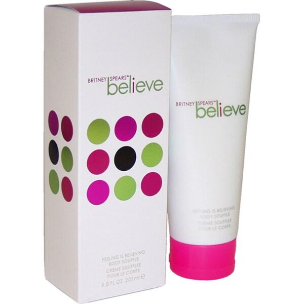 Believe by Britney Spears for Women 6.8-ounce Body Souffle