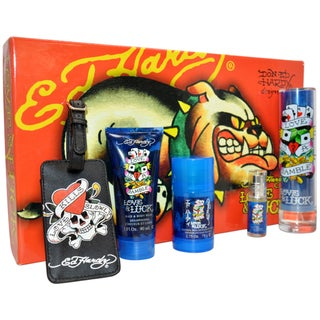 Christian Audigier 'Ed Hardy Love & Luck' Men's 5-piece Fragrance Gift Set