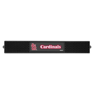 Fanmats MLB St Louis Cardinals Rubber Drink Mat