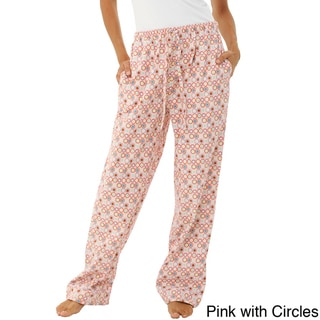 Alexander Del Rossa Women's Cotton Flannel Pajama Pants