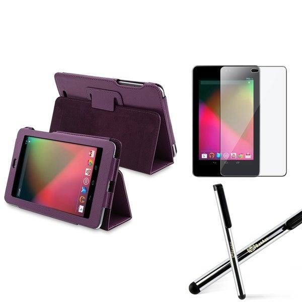 BasAcc Silicone Case/ Screen Protector/ Stylus for Google Nexus 7